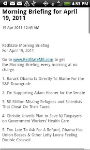 RedState - screenshot thumbnail