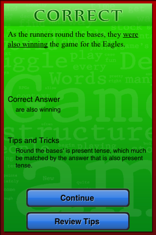 Virtual SAT Tutor - Writing - screenshot