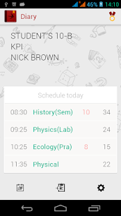 Diary (Timetable)- screenshot thumbnail