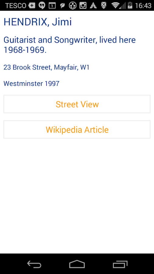 Blue Plaques London- screenshot
