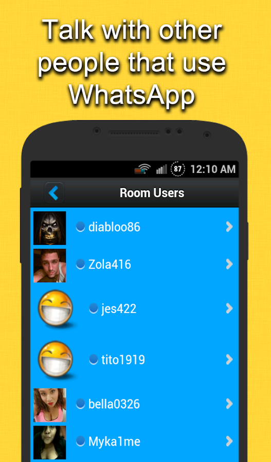 chat rooms friends - android apps on google play