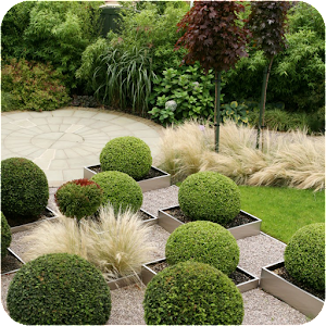 Gardening Design Ideas super tiny garden with trees and shrubs in planters Garden Design Ideas