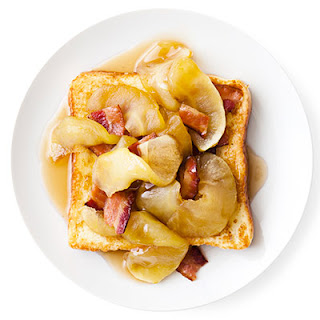 Apple-Bacon French Toast.
