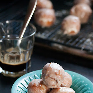 Maple Bone Marrow Doughnut Holes
