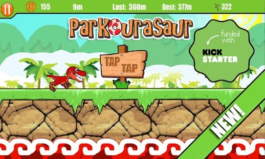 Parkourasaur - screenshot thumbnail