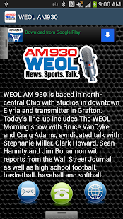 WEOL AM930 - screenshot thumbnail