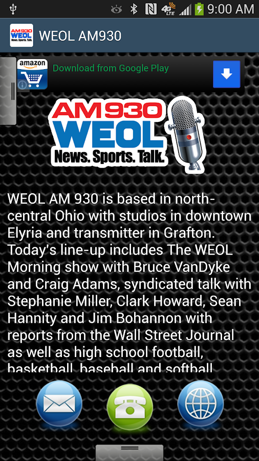 WEOL AM930 - screenshot