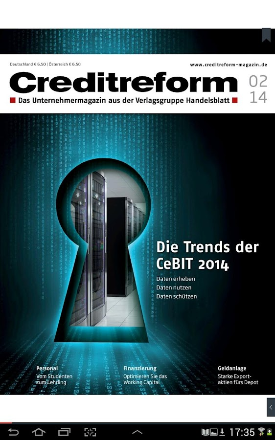 Creditreform Magazin- screenshot