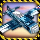 Blocky Wars - Mine Air Planes