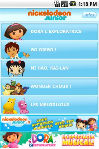 NICKELODEON JUNIOR- screenshot