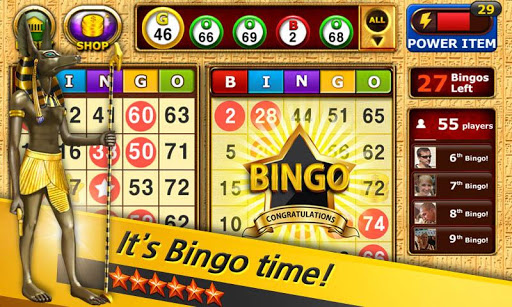 Bingo - Pharaoh's Way Screenshot