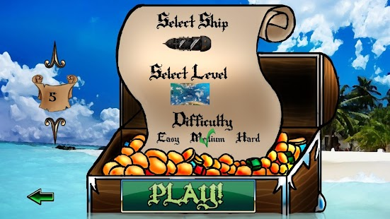Super Pirate Paddle Battle Screenshot 26