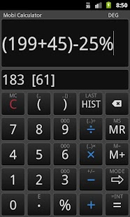 Mobi Calculator FREE - screenshot thumbnail