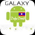 Galaxy DefaDroid (Lao Font) logo
