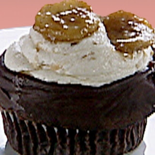 Gilbert Ganache-Fried Cupcakes: Chocolate Seltzer Cupcakes with Ganache, Banana Icing Recipe