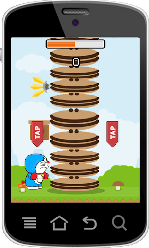 Timber Doraemon Dorayaki Tower