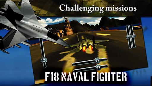 F18 Naval Jet Fighter 3D