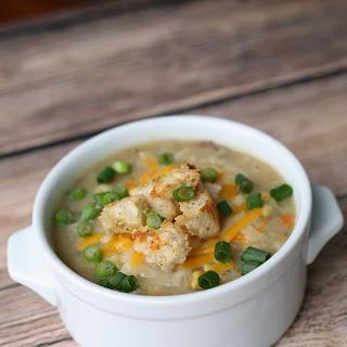 Crockpot Potato and Corn Chowder
