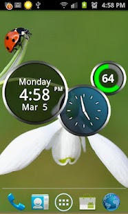 Rings Digital Weather Clock- screenshot thumbnail
