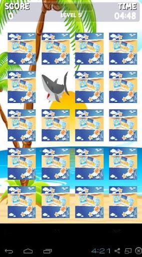 海洋動物記憶遊戲