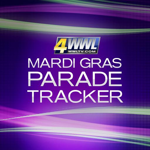 WWL Mardi Gras Parade Tracker 旅遊 App LOGO-硬是要APP