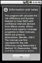NNT Calculator