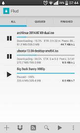 Flud - Torrent Downloader Screenshot 2