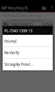 NIP Weryfikuj PL- screenshot thumbnail
