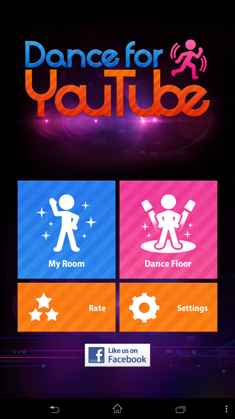 Dance for YouTube - screenshot