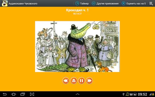 Аудио сказки Чуковского деткам