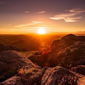 by William Bentley Jr. - Landscapes Sunsets & Sunrises