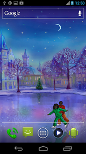 Christmas Rink Live Wallpaper Screenshot 8