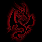 Neon Dragon live wallpaper