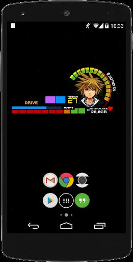 玩個人化App|Kindom Hearts Bar - Zooper Pro免費|APP試玩