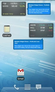 Ministocks - Stocks Widget- screenshot thumbnail