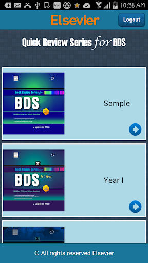 Quick Review Series for BDS