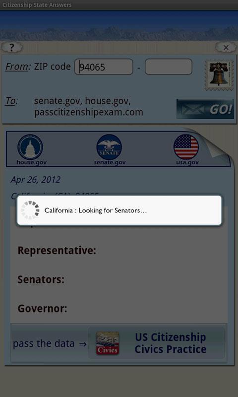 US Citizenship State Answers- screenshot