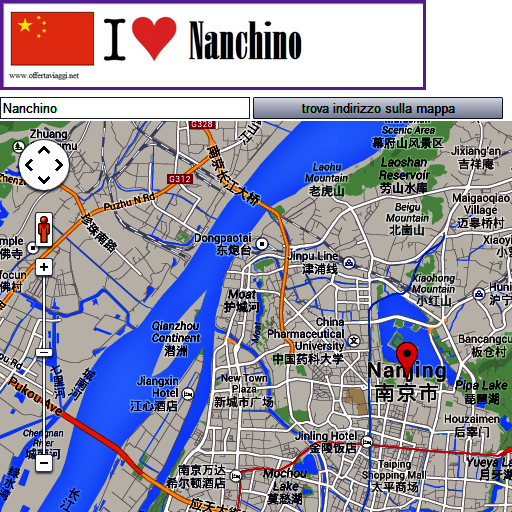 Nanchino map