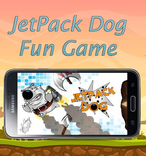 Jetpackの犬 - 楽しいゲーム