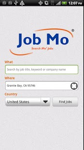 JobMo - Job Search - screenshot thumbnail
