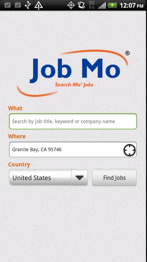 JobMo - Job Search - screenshot
