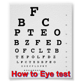 How to Eye test