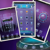Neon HD Next Launcher 3D Theme