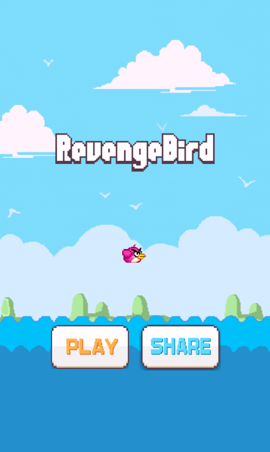 Revenge Bird -Crush tiles - screenshot