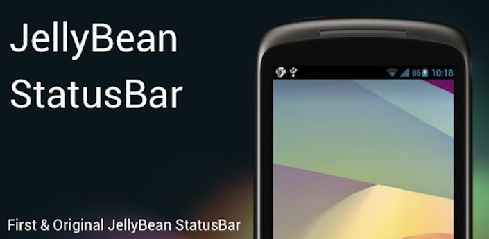 Jelly Bean StatusBar