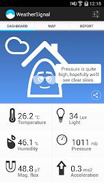 WeatherSignal Screenshot 2