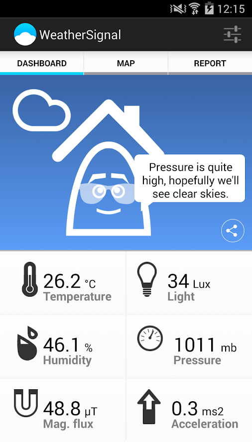 WeatherSignal - screenshot