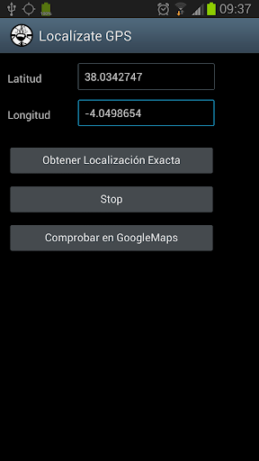 Localízate GPS
