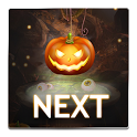 Next Halloween Pumpkin  LWP icon