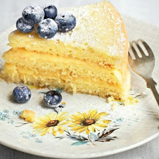 Lemon Curd Layer Cake From 'The Ginger & White Cookbook'